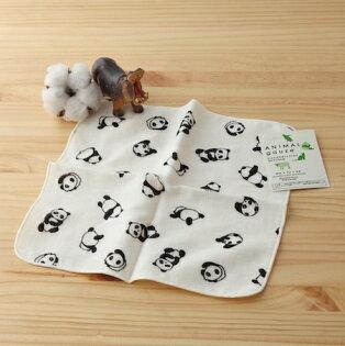 taoru:日本毛巾:貓熊23*23cm(手巾--taoru日本毛巾)