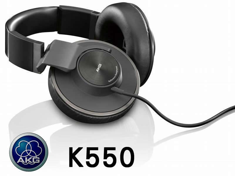 志達電子 K550 AKG HiFi旗艦耳機 可折平 密閉式 K701 K702 Q701 HD650 HD800 A900 可參考 愛科公司貨