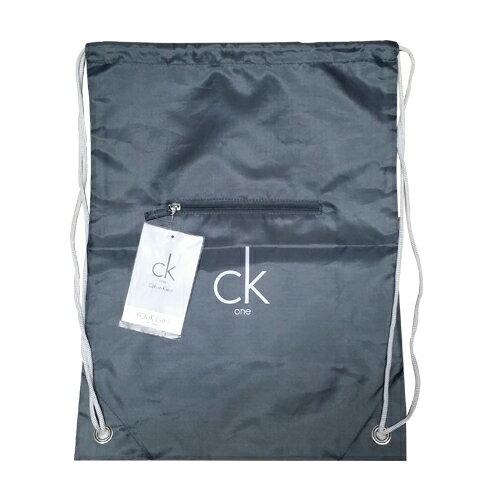 Calvin Klein 束口袋簡約後背包 ☆真愛香水★