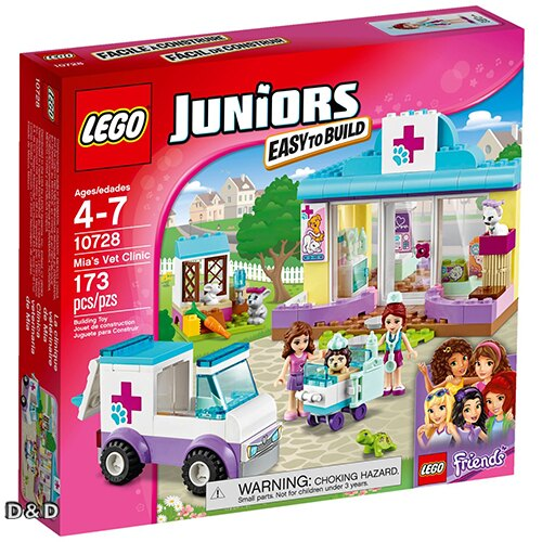 樂高積木LEGO《 LT10728 》Junior 初學級系列 - 米婭的寵物診所