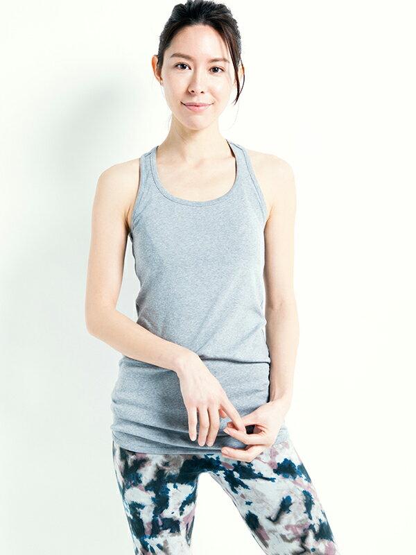 【Kyoto】100%有機棉長版背心 0