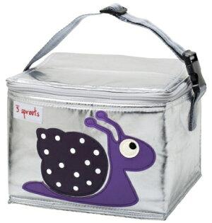 小烏龜精品童裝店:加拿大3Sprouts保溫便當袋-小蝸牛台灣授權代理商