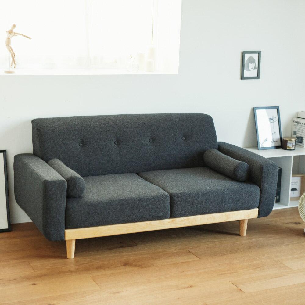 沙發 / 椅子 Vega 雷思麗北歐木作2.5人座沙發(五色) 完美主義【Y0010】 4