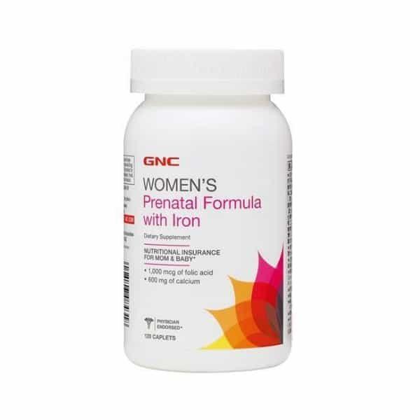 GNC 健安喜 孕婦綜合維他命 婦寶樂食品錠 120錠/瓶◆德瑞健康家◆