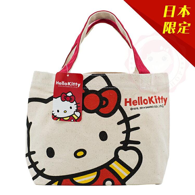 Hello kitty 日本限定手提包 零錢包【庫奇小舖】