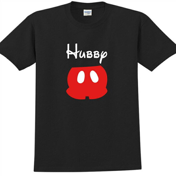 新創設計師- T恤:【Cute Hubby】成人短袖 T-shirt ( 黑 ) 850 Collections