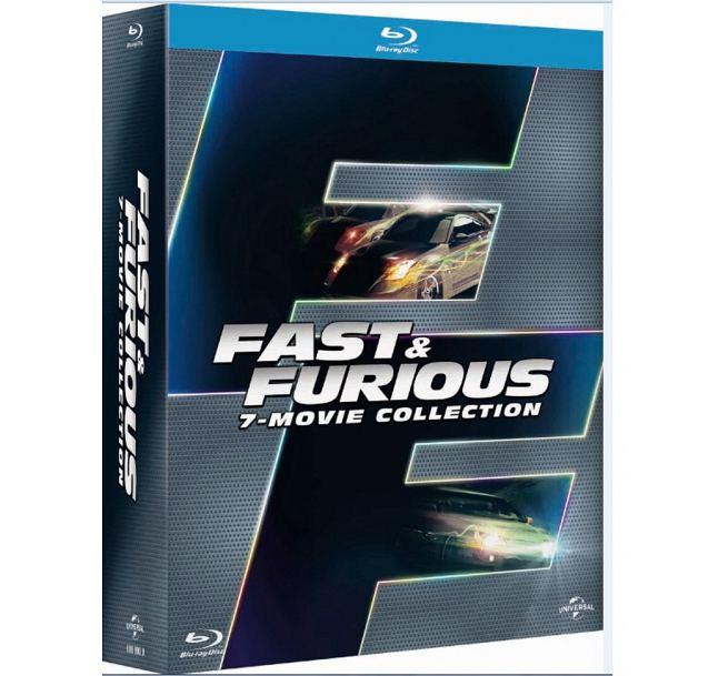 玩命關頭 1-7藍光合輯 Fast & Furious 1-7 (BD)