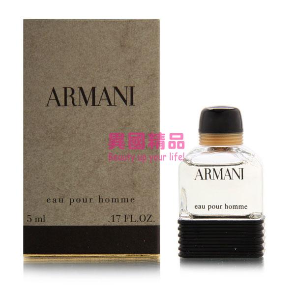 亞曼尼 Armani Pour Homme 男性淡香水 5ml Eau de 小香【特價】§異國精品§