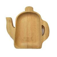 鄉村風zakka雜貨到日本茶壺造型白橡木木盤/鄉村風/造型盤子【微笑主婦】
