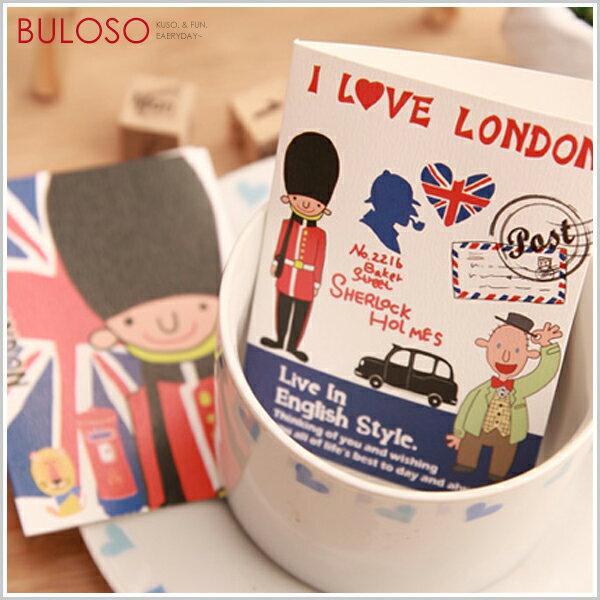 【A257237】(不挑款)韓風9款飛越倫敦小賀卡祝福小卡萬用卡卡片
