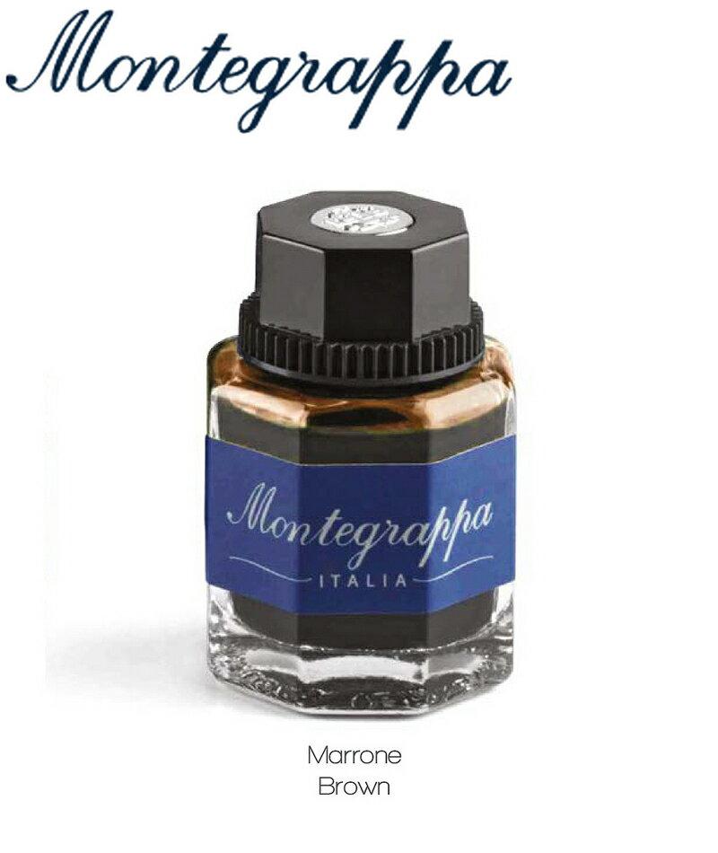 義大利Montegrappa萬特佳 墨水 - (棕色 brown) IA01BZIW / 50ml 瓶