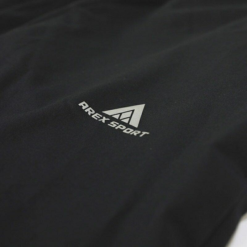 AREXSPORT 戶外休閒輕薄防水耐磨速乾修身運動衝鋒褲 防潑水材質 男女共版 加大尺碼 AS-7159 S-4L 5