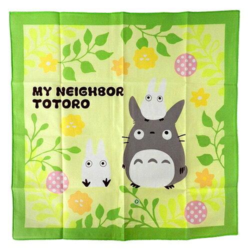 【真愛日本】18032700004 日本製餐巾43x43cm-龍貓蒲公英 宮崎駿 龍貓TOTORO 餐墊 便當包巾