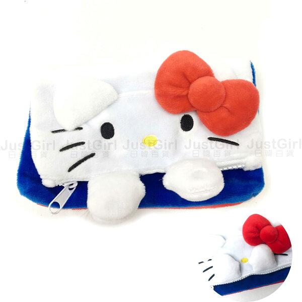HELLOKITTY雙子星收納盒珠寶盒飾品盒桌上收納居家文具正版日本進口JustGirl