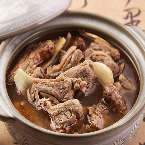 元進莊-薑母鴨1200g 湯頭濃厚而不辛辣