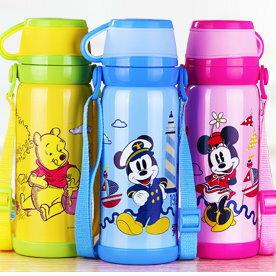 新款Disney 迪士尼 不鏽鋼兒童保溫杯男女大容量杯子水壺600ML-5763