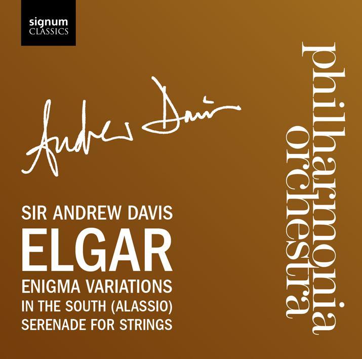 signum 安德魯.戴維斯爵士(Sir Andrew Davis)/艾爾加:謎語變奏曲、在南方、弦樂小夜曲(Elgar: Enigma Variations, In the South[Alassi..