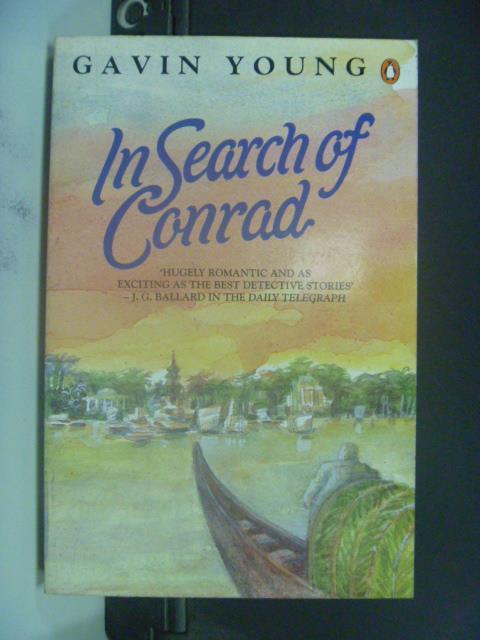【書寶二手書T4/原文小說_JLA】In search of Conrad_Gavin Young