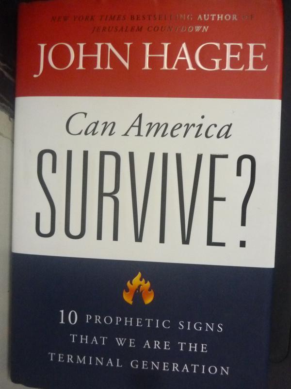 【書寶二手書T4/社會_ZJW】Can America Survive?: 10 Prophetic Signs Tha