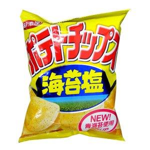 湖池屋 海苔鹽包洋芋片(小) 36g