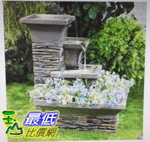 [COSCO代購如果售完謹致歉意]W1500138三層式植栽噴水池