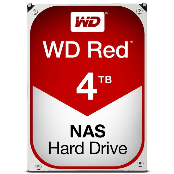 JT3C:【最高折$350】WD【紅標】4TB3.5吋NAS硬碟(WD40EFRX)