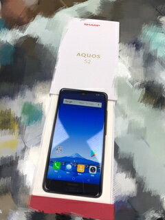 SHARP AQUOS S2 4GB/64GB(標準版)-晶曜黑 全螢幕手機 (送9600車燈行動電源.三用線)