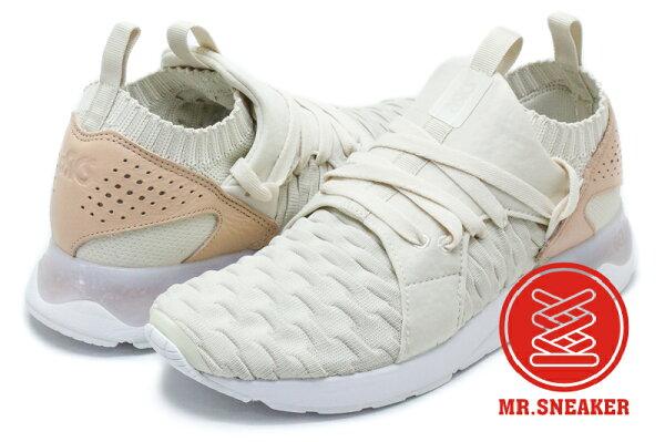 ☆Mr.Sneaker☆GEL-LYTEVSANZEKNITH800N0202三世襪套式亞瑟膠繃帶米白男段