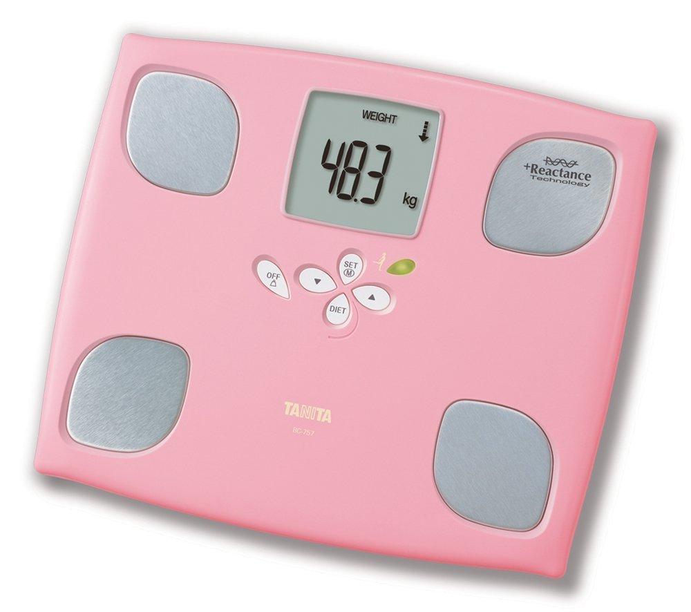 《現貨》TANITA體重計 BC 757-LP 櫻花粉色 女性減重模式