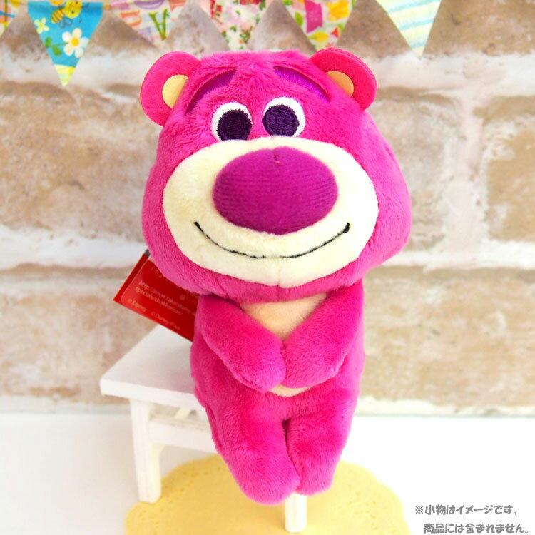 尼德斯Nydus  療癒系 Q版 公仔 玩偶 坐姿娃娃 迪士尼 玩具總動員 草莓熊 約14cm