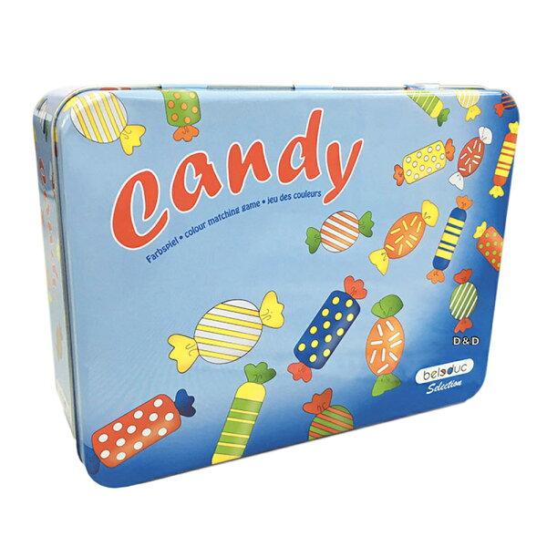 【上誼出品-beleduc】糖果對對碰-鐵盒收藏版