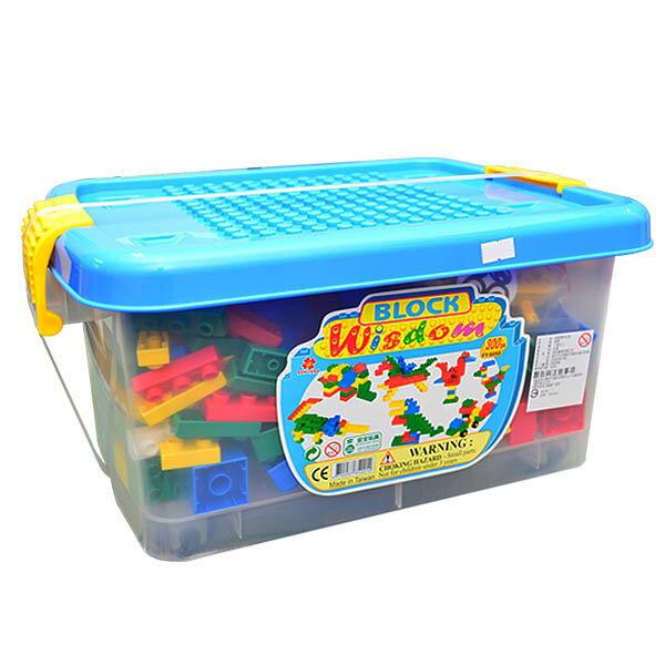 【FY積木大師】智慧積木車桶(300片)FY-6050