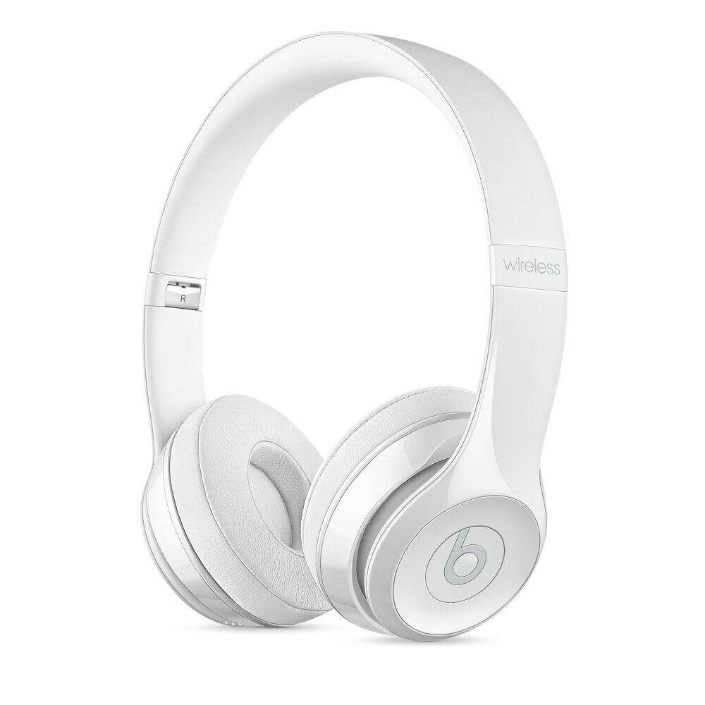 Beats Solo3 Wireless On-Ear Headphones - Gloss White 2
