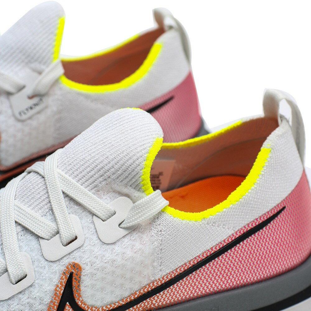 NIKE 慢跑鞋 REACT INFINITY RUN FK 白紅 編織 襪套 男 (布魯克林) CD4371-004