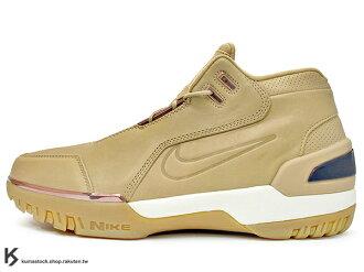 2017 小皇帝 LeBron James 世界限量 2000 雙 限量復刻 NIKE AIR ZOOM GENERATION AS QS 皮革鞋面 卡其 駝色 明星賽配色 NBA 第一雙代言鞋款 H..
