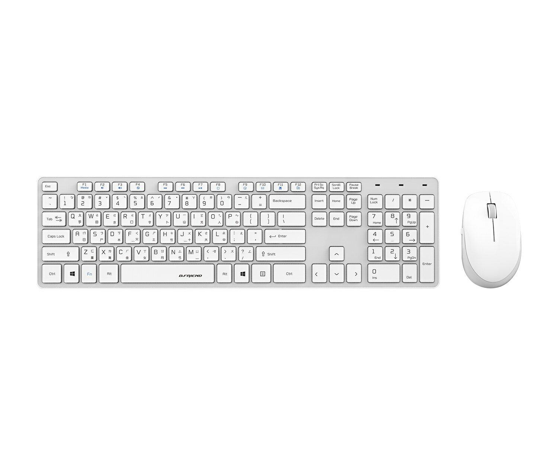 B.Friend RF1430 2.4G 無線鍵盤滑鼠組 無線鍵盤 無線鍵鼠組 無線電腦組【迪特軍】