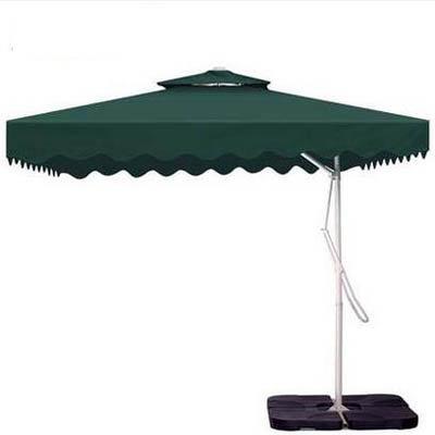 【戶外庭院遮陽傘-遮陽防雨款-3.0米-8股-1套/組】崗亭傘雙層鋼管太陽傘(底座需另購)-7670608