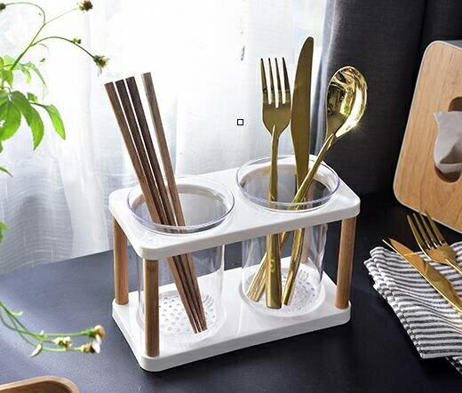 餐具收納盒 筷子簍置物架托瀝水筷子籠家用筷籠筷筒廚房餐具勺子收納盒