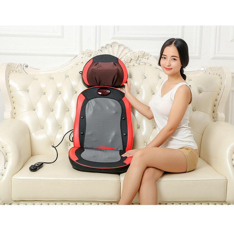 全自動小型電動按摩椅家用全身按摩墊腰部背部頸椎按摩器老人椅子 2