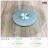 【 EASYCAN  】J3078 玻璃轉盤 易利裝生活五金 餐桌轉盤 房間 臥房 衣櫃 小資族 辦公家具 系統家具 1
