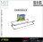 【 EASYCAN  】ESD08 鐵捲筒紙巾架 易利裝生活五金 無痕掛鉤 無痕貼 掛勾 免鑽孔 浴室 廁所 廚房 房間 臥房 衣櫃 小資族 辦公家具 系統家具 0