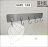 【 EASYCAN  】ESD15 長條型5連鉤(大鐵鉤) 易利裝生活五金 無痕掛鉤 無痕貼 掛勾 廚房 浴室 廁所 房間 臥房 衣櫃 小資族 辦公家具 系統家具 1