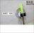 【 EASYCAN 】ESD28-鐵拖把架 易利裝生活五金 無痕掛鉤 無痕貼  掛勾 免鑽孔 廚房 浴室 廁所 房間 臥房 小資族 辦公家具 系統家具 1