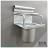 C101 15cm單杯架 易利裝生活五金 鋁合金 廚房 餐廳 房間 浴室 小資族 辦公家具 系統家具 0