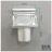 C101 15cm單杯架 易利裝生活五金 鋁合金 廚房 餐廳 房間 浴室 小資族 辦公家具 系統家具 2