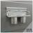 【 EASYCAN  】C102 30cm雙杯架 易利裝生活五金 鋁合金 廚房 餐廳 房間 浴室 小資族 辦公家具 系統家具 0