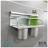 【 EASYCAN  】C102 30cm雙杯架 易利裝生活五金 鋁合金 廚房 餐廳 房間 浴室 小資族 辦公家具 系統家具 1