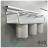 【 EASYCAN  】C103 40cm三杯架 易利裝生活五金 鋁合金 廚房 餐廳 房間 浴室 小資族 辦公家具 系統家具 0