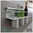【 EASYCAN  】C103 40cm三杯架 易利裝生活五金 鋁合金 廚房 餐廳 房間 浴室 小資族 辦公家具 系統家具 1
