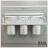 【 EASYCAN  】C103 40cm三杯架 易利裝生活五金 鋁合金 廚房 餐廳 房間 浴室 小資族 辦公家具 系統家具 2